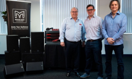 Focusrite plc annonce l'acquisition de Martin Audio Ltd