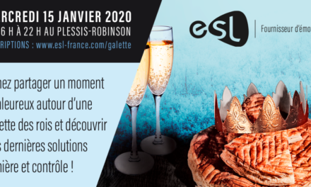 ESL Paris vous invite à partager la galette des rois le 15 janvier
