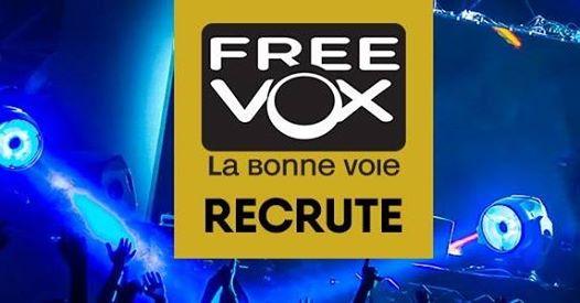 FREEVOX recrute un Chef Produit Eclairage & Image