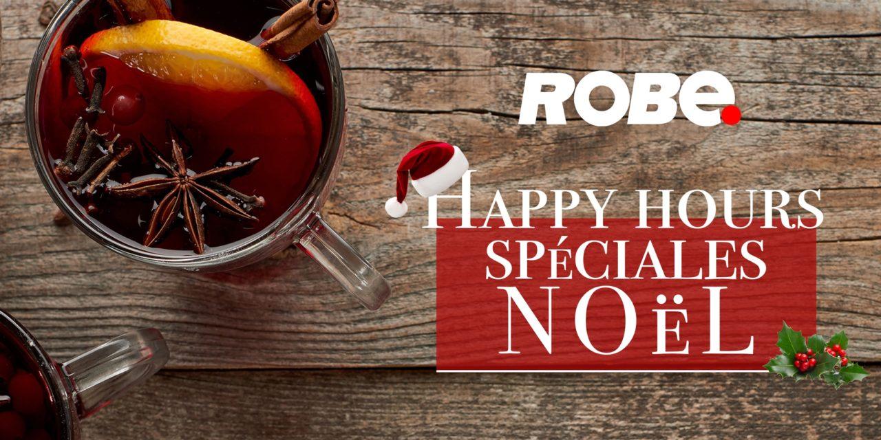 ROBE Happy Hours : RDV le 19 décembre chez LC Formation