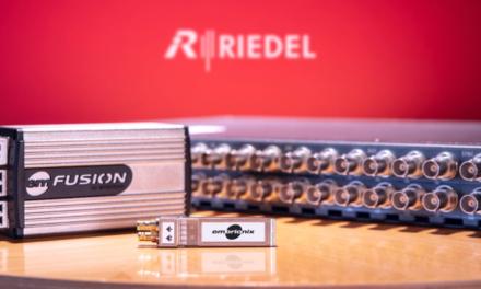Embrionix rejoint Riedel Communications