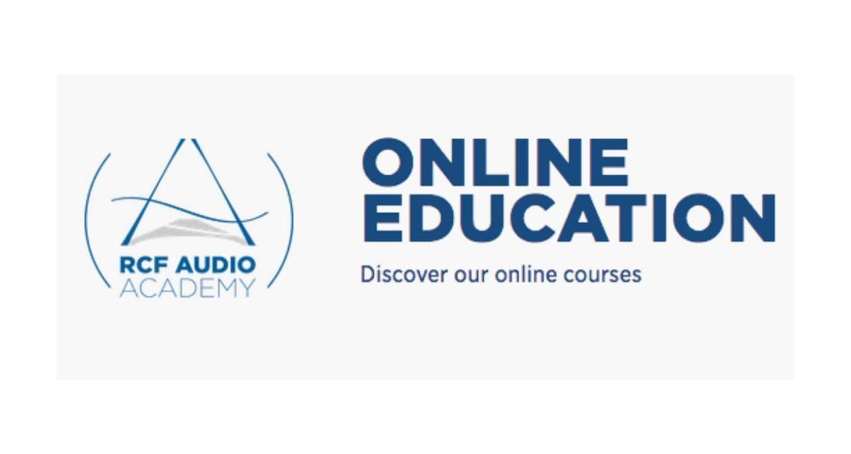 RCF Audio Academy – Formations en ligne