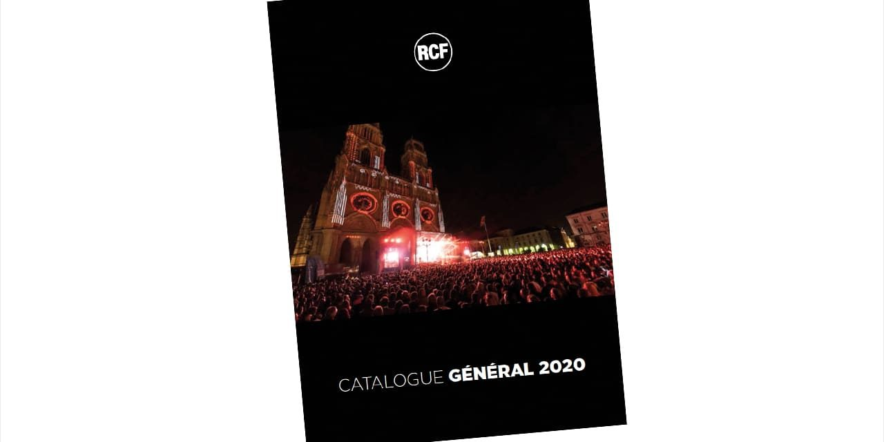 CATALOGUE RCF 2020