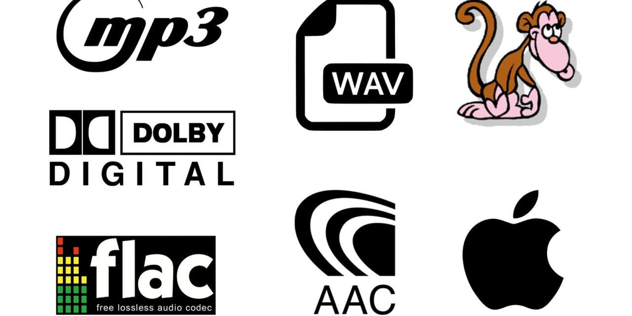Flac, Monkey's audio, MP3…