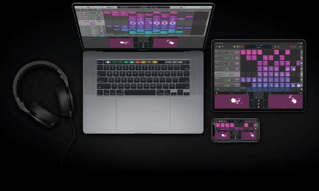 Logic Pro X en version 10.5