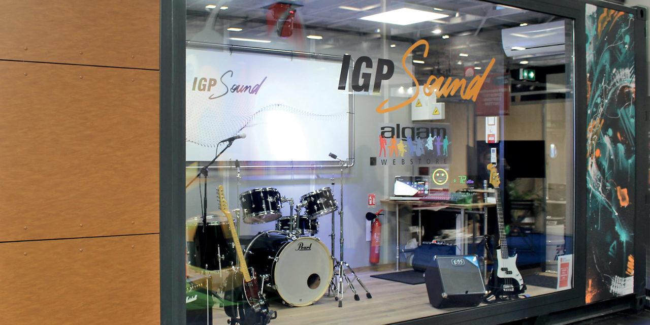 IGP Sound : des containers transformés en studios