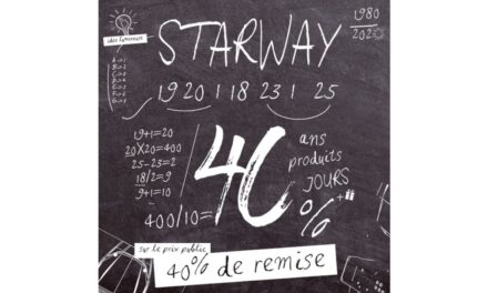 Starway fête ses 40 ans