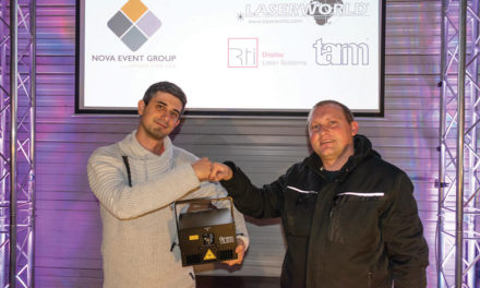 NOVA EVENT GROUP DISTRIBUE LASERWORLD EN SUISSE