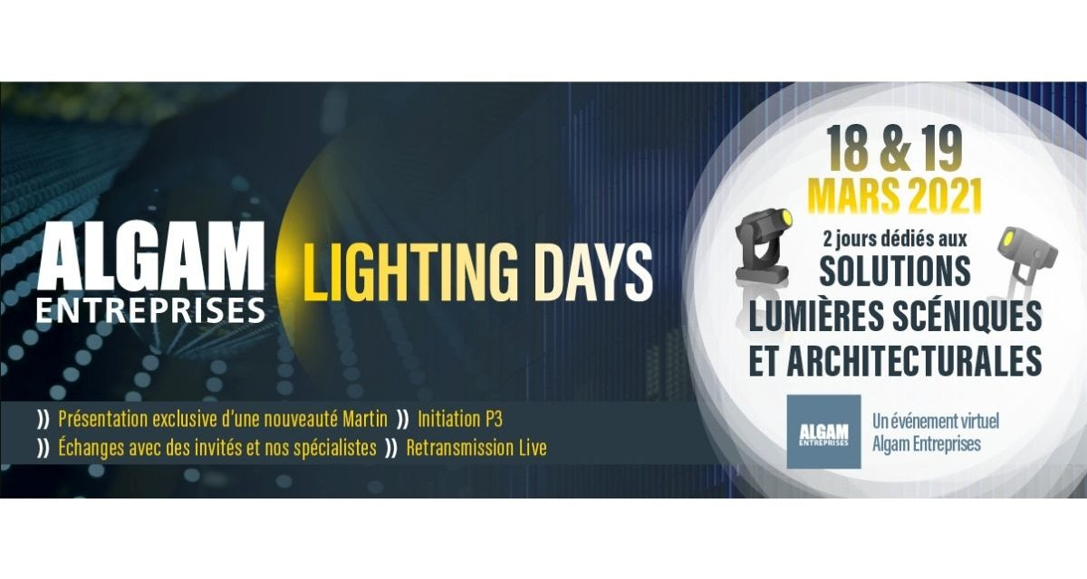 Algam Entreprises Lighting Days