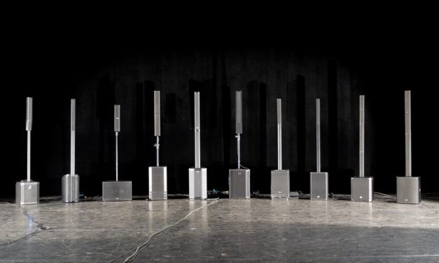 Dix systèmes colonne en test au théâtre d'Ablon-sur-Seine