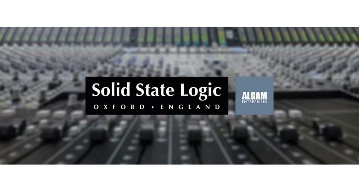 Solid State Logic rejoint le catalogue Algam Entreprises