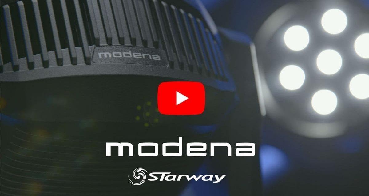 Starway Modena, projecteur automatique à LED