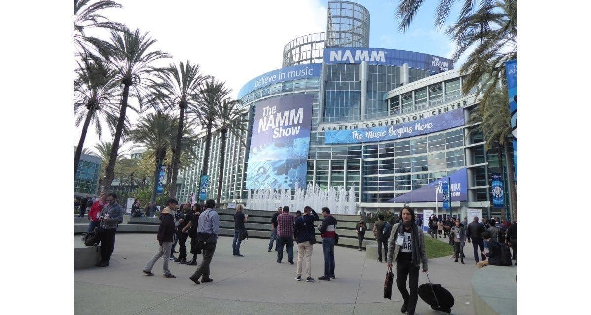 Le NAMM Show reporté en juin 2022