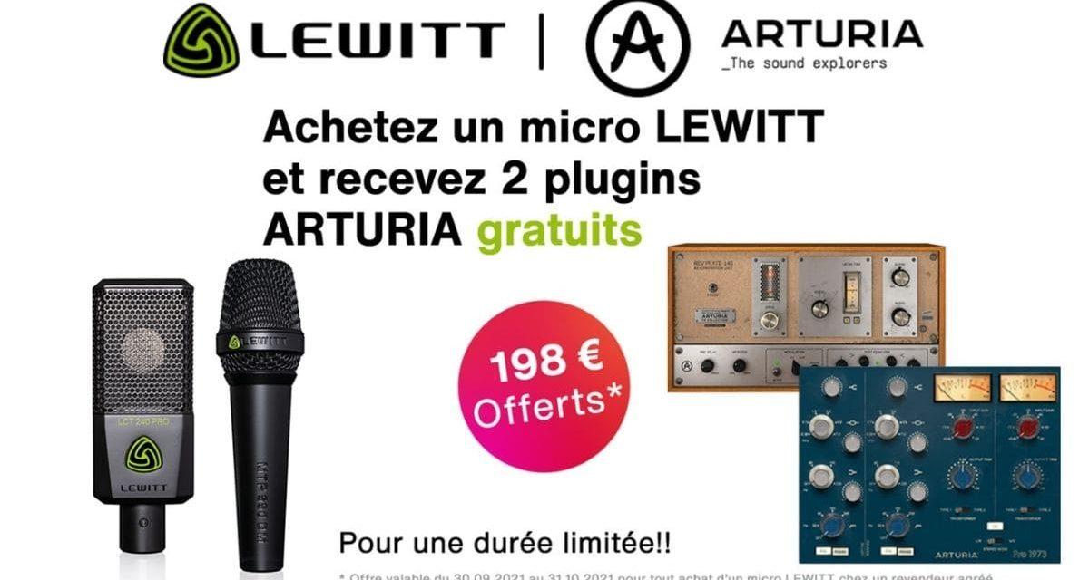 Lewitt s'associe à Arturia